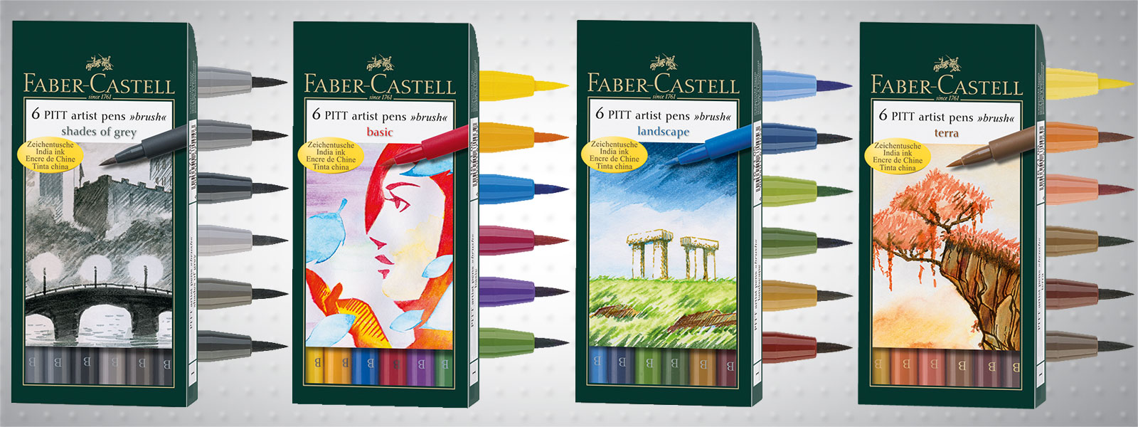 Маркер четка Artist Pen - Brush, Soft Brush Faber-Castell PITT